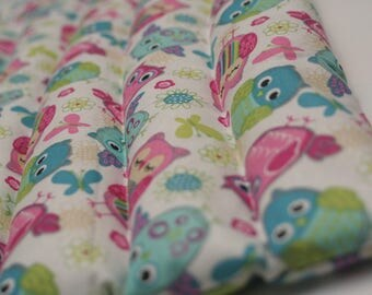 Lavender Oil Infused Cheery Owls Heating Pad