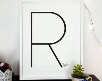 Minimal design print, modern poster, scandi wall art, minimalist poster, teens room decor, modern interior art, gift for teen, hygge print