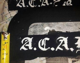 A.C.A.B patch