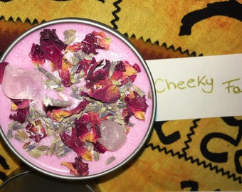 Natural soy wax candle 'Cheeky fairy'