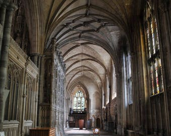 Winchester Cathedral 01 greetings card