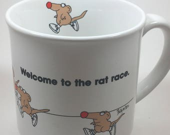 Welcome to the rat race by Sandra Boynton
