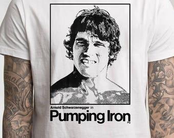 Arnold Schwarzenegger Pumping Iron shirt