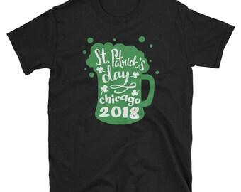 Chicago Irish Tshirt, St Paddys Day Shirt, Chicago Irish Shirt, Funny Irish Shirt, Irish Chicago, Irish Apparel, Irish Gifts