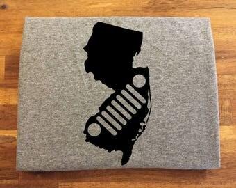 New Jersey Jeep Shirt
