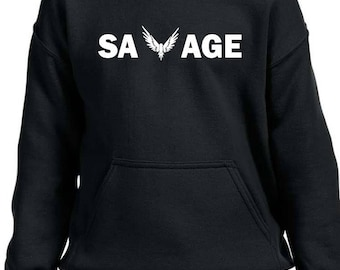 Logang Paul Maverick Savage Hoodie Youth S-XL