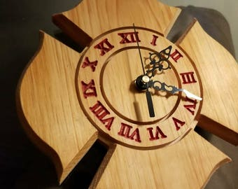 Firefighter Maltese Clock