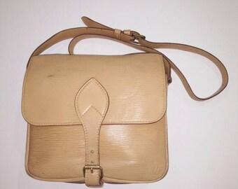 Authentic LV epi leather