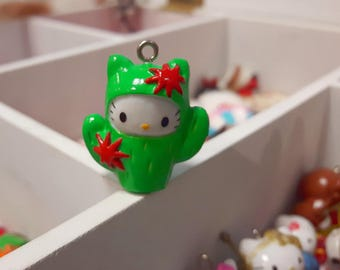 Hello Kitty Cactus charm