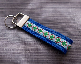 """Clover of Fortune"" keychain"