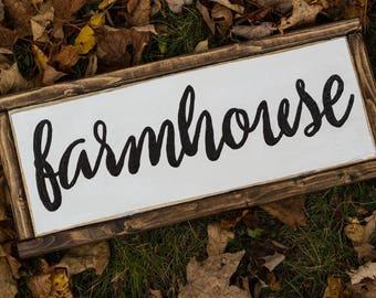 Farmhouse Decor Farmhouse Wood Sign Rustic Home Decor Rustic Wood Sign Fixer Upper Decor Modern Farmhouse Joanna Gaines Mantle Decor