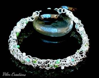 All wired up bracelet / bracelet unique