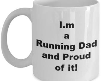 Running Dad Proud. Coffee Mug