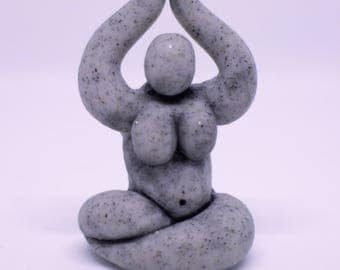 Stone Colored Pocket Goddess