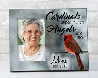 Sympathy Gift for Loss, Cardinals Appear when Angels are Near, Bereavement Gifts for Remembrance, Loss of Loved One Memorial Gift