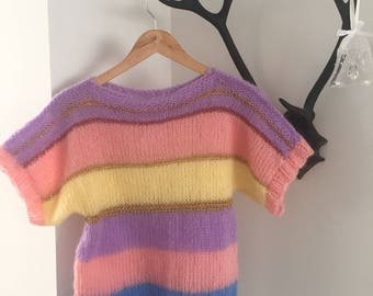 Stripes, handmade