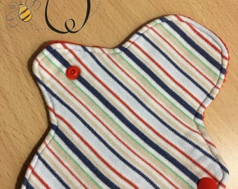 7 inch cloth pad liner. Cotton knit. Jersey