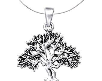 Silver Tree Pendant