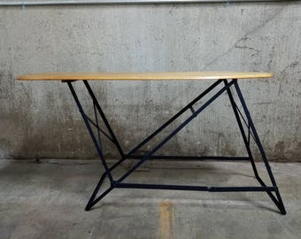 Industrial Ironing Board Entry Table