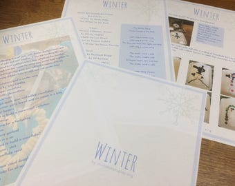 Winter Inspiration Pack Digital Resource