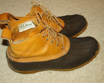 Vintage L.L. Bean Leather Boot Hunting size 11