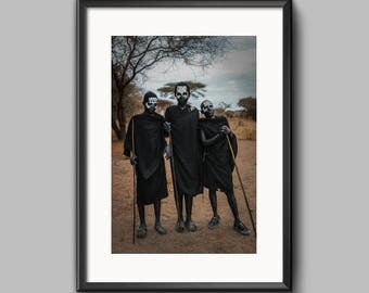 Digital Print - Masai Boys Coming of Age