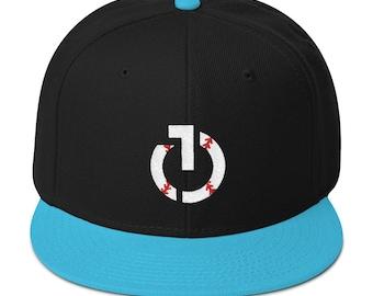 Black/Teal Hat