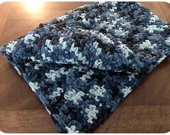 Crochet Baby Blanket, Chunky Baby Blanket