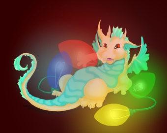 Light bulb Dragon