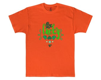 Be Lucky Hanes Tagless Tee