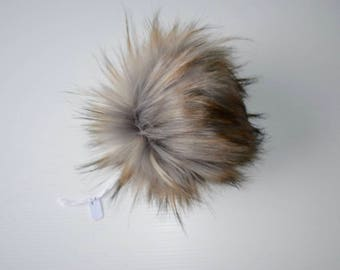 Eclipse Faux Fur Pom Pom