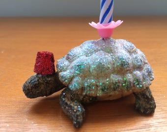 Tortoise animal candle