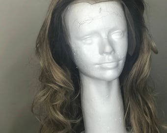 Lace Front 360 Wig Custom Colored Wig
