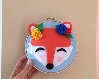 Fox wall fox framework, fox, frame, Fox wall Fox, fox decoration, Quebec, frame, Fox wall fox, Fox