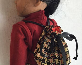 "Backpack for 18""dolls such as American girl"