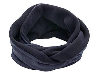 """Fleece loop scarf """"MELANGE"""""""