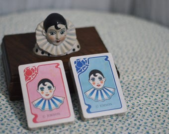 Unique 1970's Set of Emson Circus Playing Cards