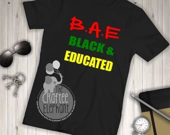 Black and Educated Shirt