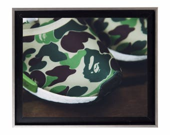 Bape x Adidas NMB Poster or Art Print (a bathing ape)