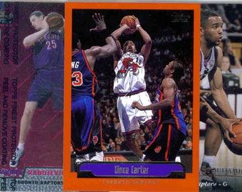 TORONTO RAPTORS Basketball Team Lot - 150 Assorted Cards