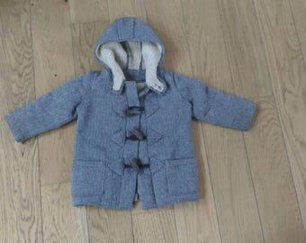 Two years coat type duffle coat