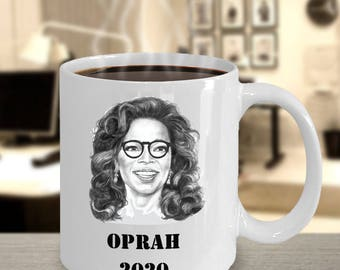 Oprah 2020 Presidential Mug