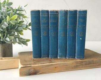"Set of Six ""O. Henry"" Vintage Books"