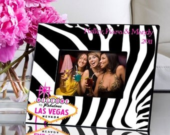 Personalized Gals Las Vegas Picture Frame - Personalized Photo Frames - Las Vegas Picture Frames - Personalized Friend Photo Frames
