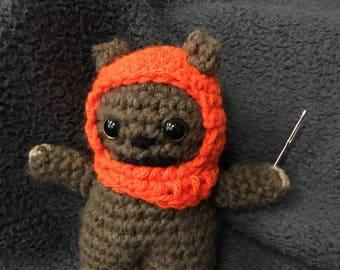 Ewok inspired doll