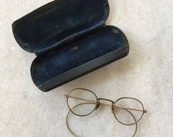 Antique Glasses with Case