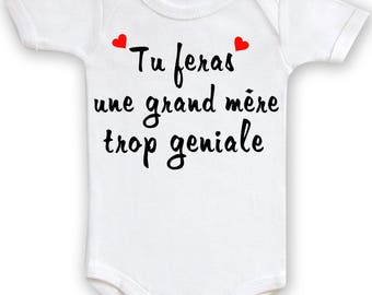 Funny baby Bodysuit you make a great mother too funky