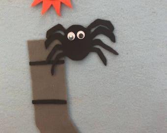 Itsy Bitsy Spider Felt Board Story