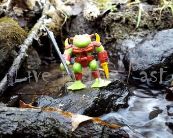 Battle Beast Drillfrog action figure 8x10 toy photo print
