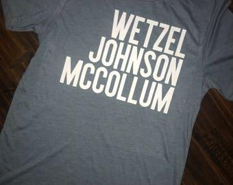 Wetzel Johnson McCollum Tee